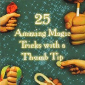 25amazingmagictrickswiththumbtipdvd
