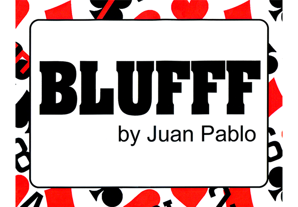 blufff chinese letters to king of clubs by juan pablo magic